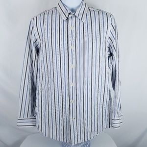 Banana Republic Mens Size L 16-16.5 Fitted shirt